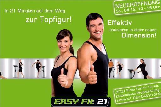 Carmen Franke, Werbung für Easy Fit 21