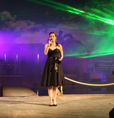 Carmen Franke Silvester Gala in Tropical Islands