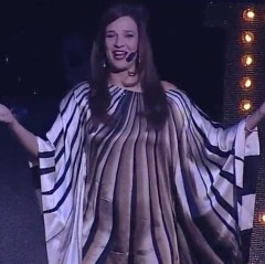 Carmen Franke modieriert die ABBA Show