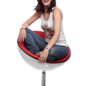 Carmen Franke - Moderatorin, brunette