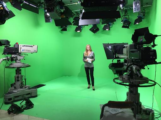 Berliner TV Moderatorin Carmen Franke