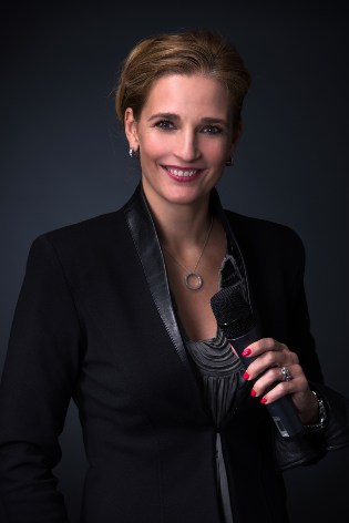 Moderatorin Carmen Franke aus Berlin