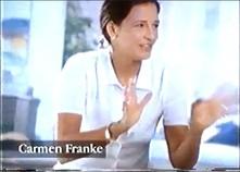 Werbespot von DOVE mit Carmen Franke